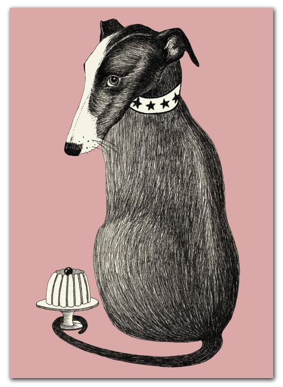 Poster hondje